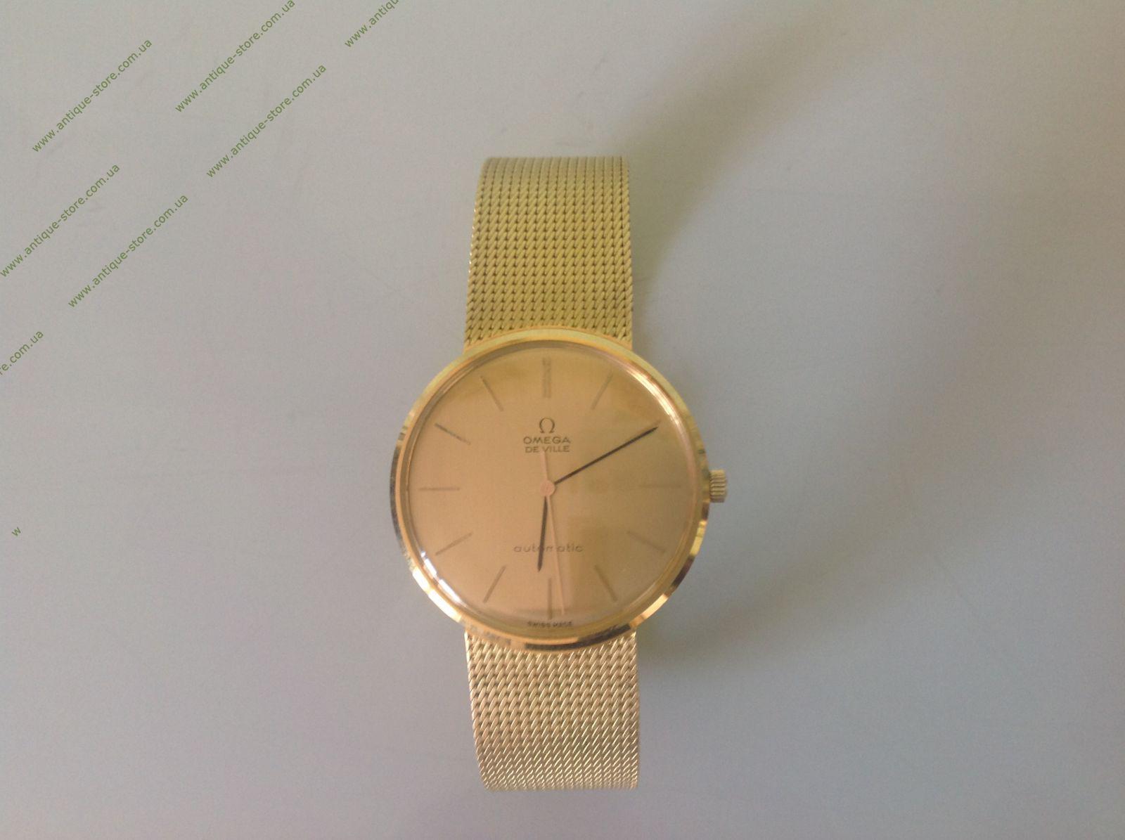 швейцарские часы с золотым браслетом