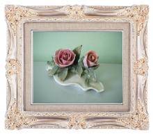 декор, розы фарфор, фарфоровые цветы, подсвечники из фарфора, украшения фарфор