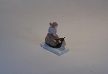 купить фарфор, купить статуэтку фарфоровую эльф на улитке, эльф на улитке, художник Альберт Каасман (Albert Caasmann), Розенталь (Rosenthal)