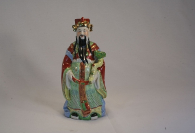 фен-шуй, купить фарфор, фигурка Фу-син – бог богатства и процветания, китайский фарфор, китайский бог