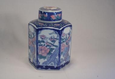 купить фарфоровую чайницу,фарфоровая банка для хранения чая, Китай