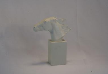 купить фарфор, статуэтка фарфоровая голова лошади, голова коня,  Альберт Хусман (Albert Hinrich Hussmann), Розенталь (Rosenthal)