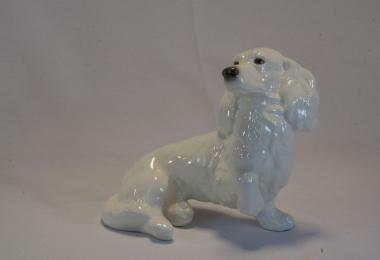 купить фарфор,фигурка фарфоровая собака, коккер - спаниель фарфоровый, фарфор Гебель (Goebel ) купить, статуэтки фарфоровые, фаянс,  керамика