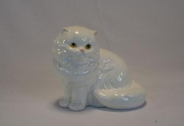 купить фарфор,фигурка фарфоровая котик, белый котенок фарфоровый, фарфор Гебель (Goebel ) купить, статуэтки фарфоровые, фаянс,  керамика