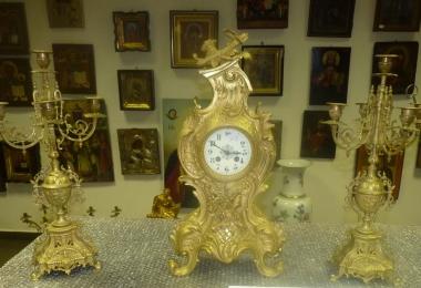 часы, часы каминные, часы бронзовые, часы с канделябрами, часы с подсвечниками, часы купить, часы бронзовые с канделябрами