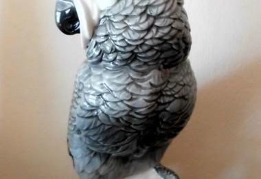 купить фарфор, фигура фарфоровая попугай,  Какаду   фарфоровый, попугай фарфоровый, фарфор Германия, фарфор Карл Энс (Karl Ens