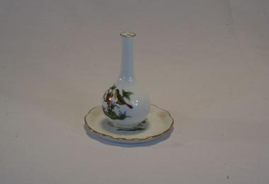 купить фарфор,ваза фарфоровая Херенд,  миниатюрная вазочка, фарфор Ротшильд,  фарфор Херенд (Herend) купить