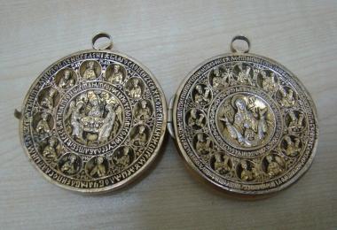 икона, панагия, икона серебро, панагия серебряная
