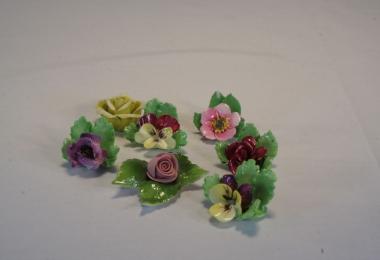 купить фарфор,цветы фарфоровые германия, купить фарфоровый декор, фарфор Германия