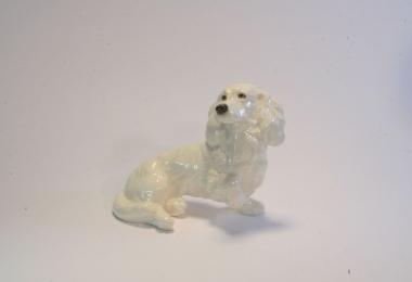 купить фарфор,фигурка фарфоровая собака, коккер - спаниель фарфоровый, фарфор Гебель, Goebel купить, статуэтки фарфоровые, фаянс,  керамика