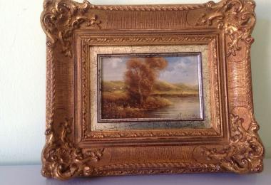 купить картину пейзаж , доска, масло,  картины маслом, купить картину зпейзаж, пейзаж, интерьерный пейзаж