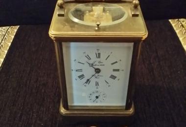 часы каретные, часы, каретные часы, часы франция, часы L´ Epee, L´ Epee