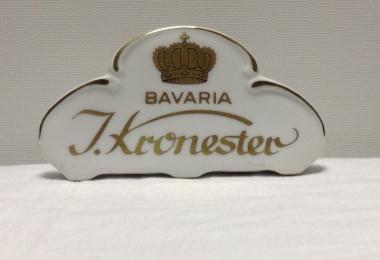 "купить фарфор,табличка фарфоровая Кайзер,  фарфор Германия, немецкий фарфор,""Кронестер, Бавария""(I.Kronester, Bavaria) купить"