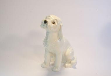 купить фарфор,фигурка фарфоровая собака, щенок фарфор Гебель (Goebel ) купить, статуэтки фарфоровые, фаянс,  керамика, коккер, коккер спаниель
