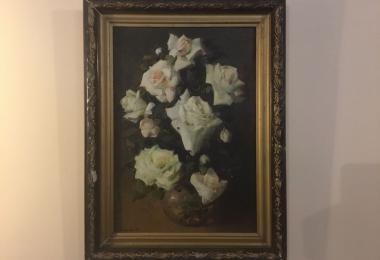 купить натюрморт,  картины маслом, купить картину розы, картина розы, натюрморт купить Киев, Игорь Осьмак, художник И.  Осьмак
