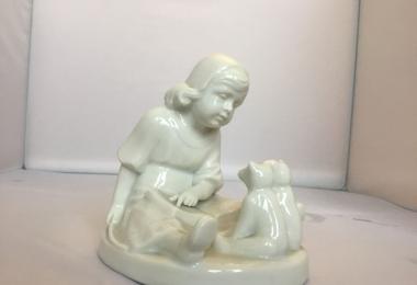 купить фарфор, статуэтка фарфоровая девочка с мишками,  школа для мишек фарфор,  фигрка школа Тедди розенталь, купить  фарфор Тедди Школа  Розенталь,  Rosenthal