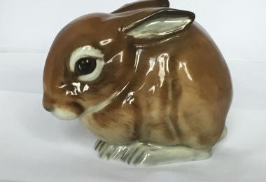 купить фарфоровую статуэтку заяц, статуэтка фарфоровая заяц, заяц фарфор, Хутченройтер, Hutschenreuther, Уве Нецш, Uwe Netzsch, кролик фарфор