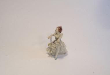 купить фарфор, кружевной фарфор, фарфоровая статуэтка балерина, девочка, дрездеская фарфоровая мануфактура, дрезденский фарфор купить, Дрезден (Dresden)