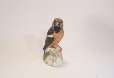 купить фарфор,фигурка птица, птица дубонос фарфоровая, фарфор Гебель (Goebel ) купить, статуэтки фарфоровые, фаянс,  керамика