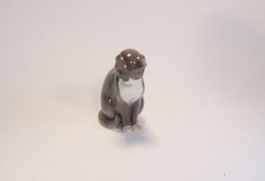 купить фарфор, фигурка кот, кот фарфоровый, фарфор Роял Копенгаген (B & G Denmark Royal Copenhagen) купить, статуэтки фарфоровые