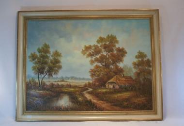 картина пейзаж , холст, масло,  картины маслом, купить картину пейзаж, картина классический пейзаж