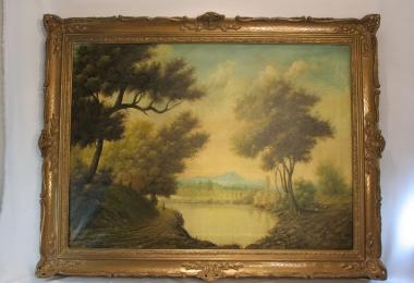 картина пейзаж,  холст, масло, купить картину, изображающую природу, романтический пейзаж, Холден, Holden