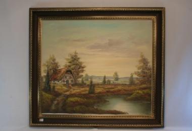картина пейзаж, холст, масло, купить картину, изображающую природу,живопись в стиле романтизм , интерьерный пейзаж.