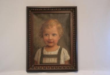 картина портрет ребенка, купить картину, масло, холст, купить классический портрет мальчика