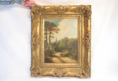купить картину пейзаж , холст, масло,  картины маслом, купить картину пейзаж, картина классический пейзаж