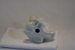 купить фарфор, статуэтка фарфоровая обнаженная, фарфоровая фигура обнаженная на коленях , Венгрия, Аквинкум(Aquincum)