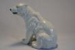 купить фарфор,фигура фарфоровая белый медведь, северный медведь фарфоровый, немецкий фарфор  белый медведь