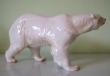купить фарфоровую статуэтку, статуэтка фарфоровая, белый медведь фарфор, мишка на севере фарфоровый, Хутченройтер (Hutschenreuther), художник Х. Ахцигер , H. Achtziger, фарфоровый медведь, медведь фарфровый, мишка фарфороый, белый медведь