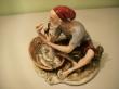 купить фарфор, фарфоровый рыбак, рыбак Каподимонте,  фарфор Каподимонте (Capodimonte), рыбак фарфор.