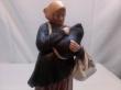 купить фарфоровую статуэтку, статуэтка фарфоровая, фарфор гарднер, фарфор первые советы, убогая,  девушка с младенцем,  фарфор, Гарднер, Вербилки, русский фарфор, горькая доля