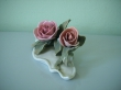 купить фарфор, цветок фарфоровый, розы фарфоровые, роза фарфоровая, фарфор Энс,  Karl Ens, Карл Энс,  цветной фарфор