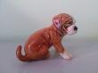 купить фарфор,европейский фарфор, фигурка фаянсовая щенок, щенок фарфор, рыжий щенок,  Гебель (Goebel) купить, статуэтки фарфоровые, фаянс, керамика