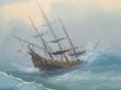 картина море, купить картину море ,  холст, масло,  шторм,  картина шторм, картина корабль, айвазовский