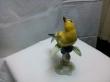 фарфор, купить фарфоровую статуэтку, статуэтка птицы фарфоровая, птица фарфор, щегол фарфоровый, Хутченройтер (Hutschenreuther), Г.Гранге, G. Granget, щегол, птица желтая фарфор
