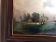 купить картину пейзаж , доска, масло,  картины маслом, купить картину пейзаж, пейзаж, дом на озере, дом