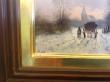купить картину пейзаж , доска, масло,  картины маслом, купить картину зимний пейзаж, пейзаж, дзимний пейзаж