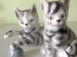 купить фарфоровых котят, кошечки фарфоровые,  котята с мячом фарфоровые, фарфор Германия, Графенталь (Grafenthal Porzellan), играющие котята фарфор