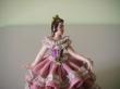 купить фарфор, кружевной фарфор, фарфоровая статуэтка балерина, барышня, дрездеская фарфоровая мануфактура, дрезденский фарфор купить
