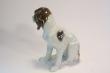 купить фарфор, фигура фарфоровая спаниель, щенок спаниеля фарфоровый, фарфор Германия, фарфор Карл Энс (Karl Ens) купить, немецкие статуэтки фарфоровые, собака фарфоровая
