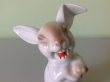 купить фарфор, статуэтка фарфоровая заяц, заяц, смеющийся заяц, заяц фарфор,  Макс Фриц (Max Fritz.), кролик Розенталь, заяц розенталь,  пасхальный заяц, Розенталь (Rosenthal)