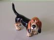 купить фарфор,европейский фарфор, фигурка бассет, собака фарфор, бассет,  Гебель (Goebel) купить, статуэтки фарфоровые