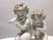 купить фарфоровую статуэтку, статуэтка фарфоровая, путти играющие на флейте, играющие путти, Хутченройтер, Hutschenreuther, художник К.Туттер, K.Tutter