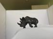 Статуэтка носорог, фабрика бермана, бронза венская, статуэтка бронзовая, венка, венка миниатюра, носорог венка, венская бронза носорог