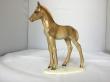 купить фарфоровую статуэтку  конь, статуэтка фарфоровая лошадь, лошадь фарфоровая, жеребёнок фарфор Хутченройтер, жеребёнок Hutschenreuther, M.H. Fritz, скачущий жеребенок