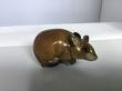 купить фарфоровую статуэтку мышка, статуэтка фарфоровая мышка, мышка фарфор, мышка Хутченройтер, мышка Hutschenreuther,мышонок фарфоровый, мышонок фарфор