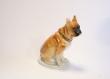 купить фарфоровую фигуру, фигура собака,  боксер фарфор, фарфор ЛФЗ